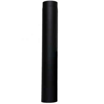 Rura kominkowa prosta Ø120, 1000 mm