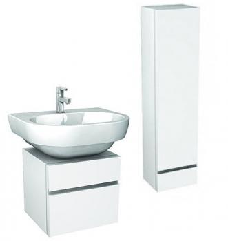Zestaw słupek i szafka DOMINO z umywalką STYLE 60cm Koło