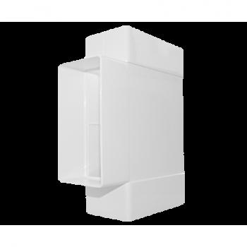 Łącznik trójnik płaski D/TP 110x55 Dospel