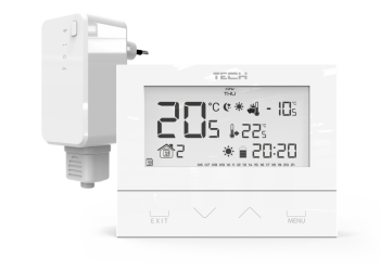 Regulator pokojowy bezprzewodowy ST-292 V2 biały TERMET