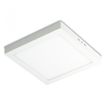 Plafon kwadratowy natynkowy LED 12W KEL PKN-LED-12W
