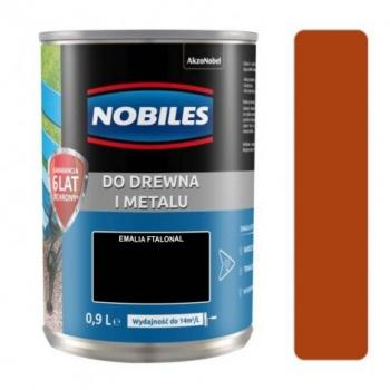 Farba Nobiles Ftalonal orzech średni 0,9L