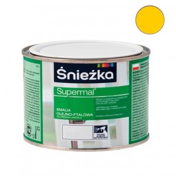 Emalia Olejno-Ftalowa SUPERMAL żółta 0,2L ŚNIEŻKA