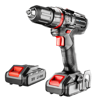 Wiertarko-wkrętarka akumulatorowa 18 V GRAPHITE 58G225