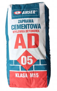 Zaprawa cementowa AD-05 ANSER