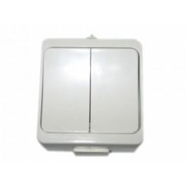 Przełącznik dwuklawiszowy Timex WNT-2Jb BI Jantar