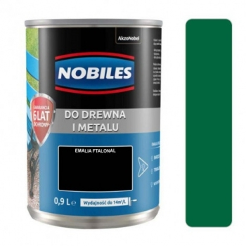 Farba Nobiles Ftalonal soczysta zieleń 0,9L
