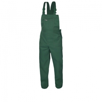 Spodnie ogrodniczki rozm.170/106 COMFORT zielone