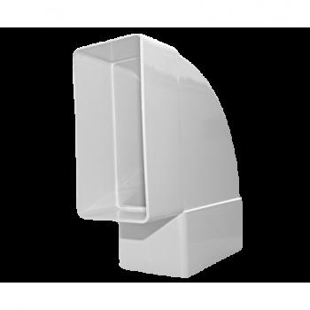 Kolano łącznikowe płaskie poziome D/KPO 110x55 Dospel