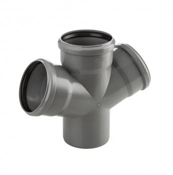 Czwórnik PVC-U 50x50x50/67 Wavin