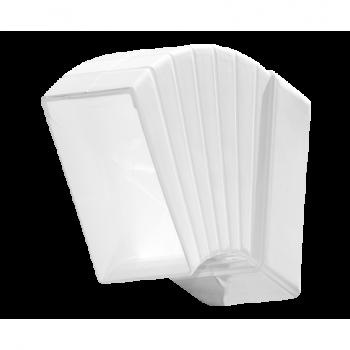 Kolano łącznikowe płaskie wielokątne D/PW 110x55 Dospel