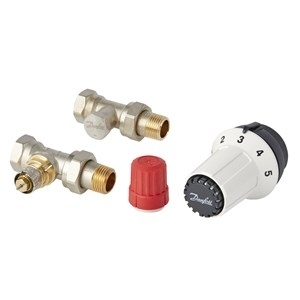 Zestaw termostatyczny prosty PANDA RA 3-elementowy