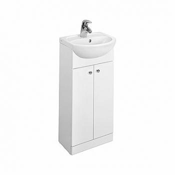 Zestaw umywalka SOLO 40 z szafką stojącą KOŁO