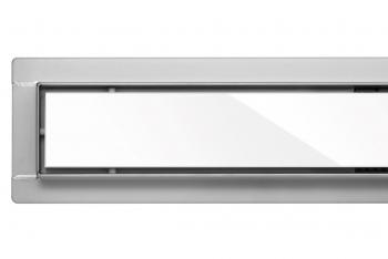 Odwodnienie WHITE GLASS 80cm Toya Fala