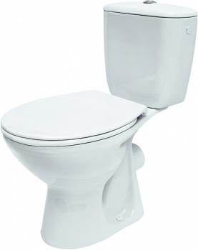 Kompakt WC PRESIDENT PP 3/6L poziomy K08-028 Cersanit