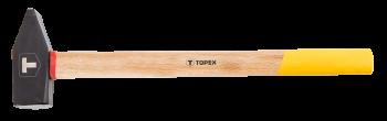Młotek ślusarski 3 kg drewniany trzon TOPEX