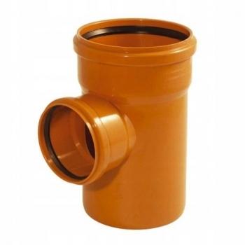 Trójnik kanalizacyjny redukcyjny 315x160mm/87° PVC