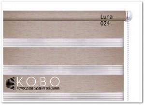 Roleta 'Dzień-Noc' 43x150cm Mini Luna KOBO