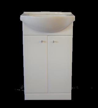 Szafka łazienkowa 55cm z umywalką TOMEX M55H