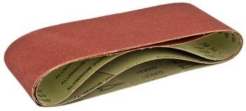 Papier ścierny K60 bezkońcowy 3szt. VERTO 63H616