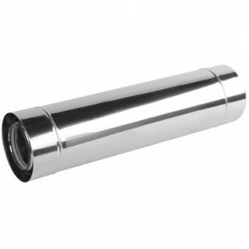 Rura 80/125 kwasoodporna 1000 mm dwuścienna z uszczelką