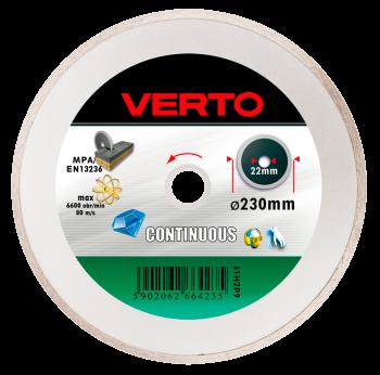 Tarcza diamentowa pełna 230mm VERTO 61H2P9