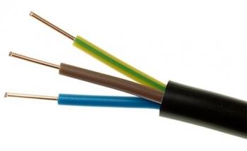 Przewód przyłączeniowy ziemny YKY 3x2,5 600/1000V Elektrokabel