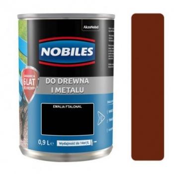 Farba Nobiles Ftalonal brązowa 0,9L