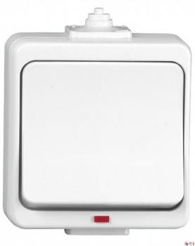 Przycisk dzwonek z podświetleniem Timex WNT-7J-b/s BI Jantar