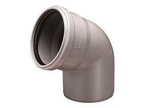 Kolano PVC-U 50/67 Wavin
