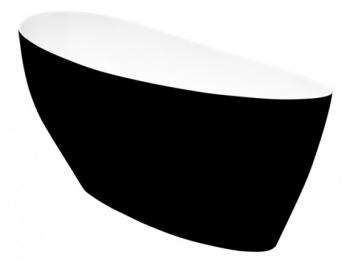 Wanna wolnostojąca 165x70 KEYA Black&White Besco
