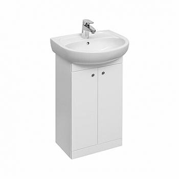 Zestaw meblowy biały SOLO 50 szafka z umywalką KOŁO