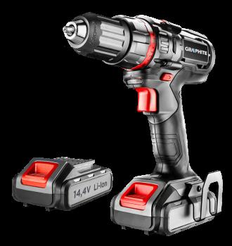 Wiertarko-wkrętarka akumulatorowa 14.4 V GRAPHITE 58G219