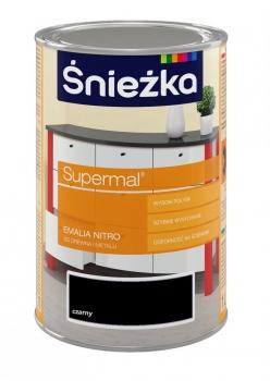 Emalia Nitro SUPERMAL czarna 0,2L ŚNIEŻKA