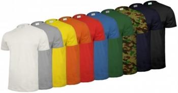 T-shirt roboczy SAHARA 145 rozm.M mix kolorów
