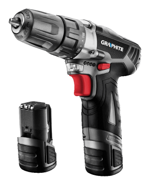 Wiertarko-wkrętarka akumulatorowa 2x10.8 V GRAPHITE 58G210