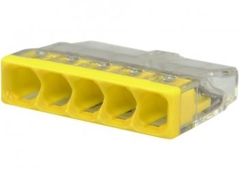 Złączka instalacyjna uniwersalna 5x0,5-2,5 WAGO 2273-205