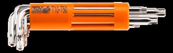 Zestaw kluczy Torx 8 szt. NEO 09-524