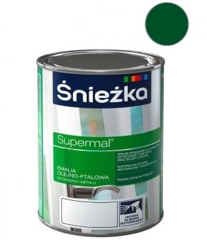 Emalia Olejno-Ftalowa SUPERMAL zielony miętowy 0,8L ŚNIEŻKA
