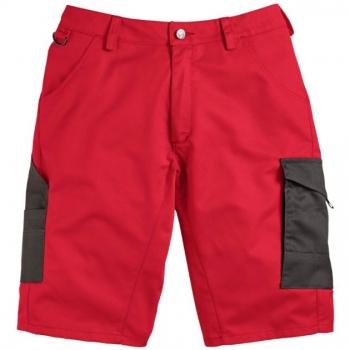 Spodnie robocze krótkie- szorty CERBER czerwone