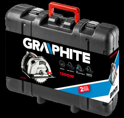 Pilarka tarczowa 1200W GRAPHITE 58G488 - opakowanie
