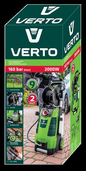 Myjka ciśnieniowa 2000 W VERTO 52G400 - opakowanie