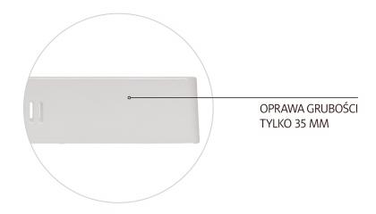 Plafon kwadratowy natynkowy LED