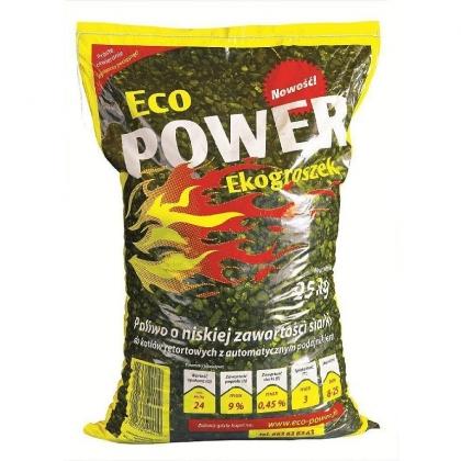 Ekogroszek 25kg ECO POWER