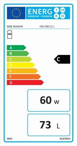 OW-E 80.12 Etykieta energetyczna