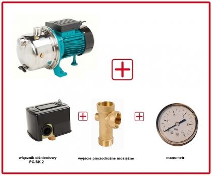 Pompa hydroforowa AJ 50/60 z osprzętem 230V IBO
