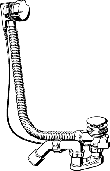 Komplet odpływowy Viega